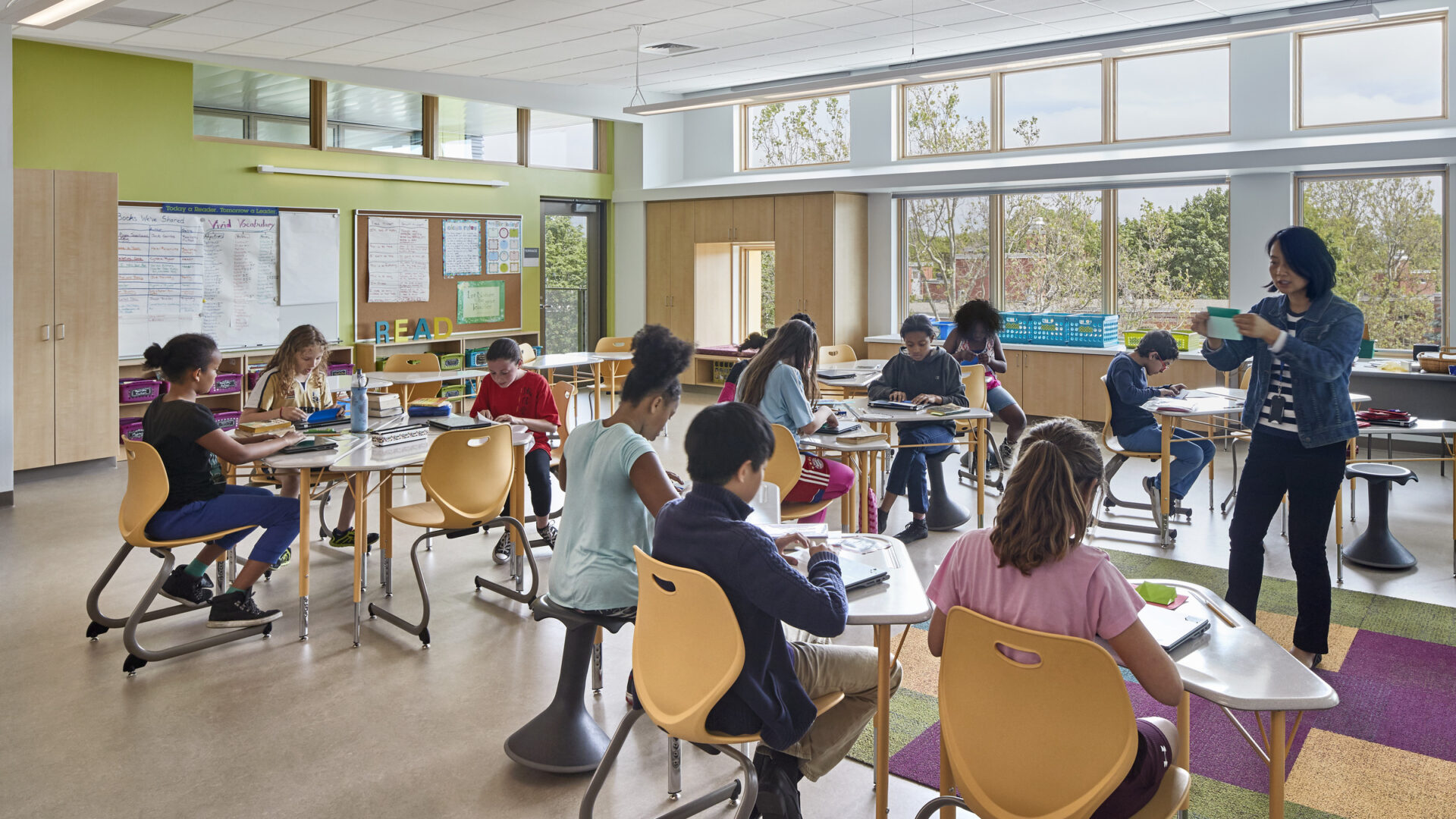 Dr. Martin Luther King, Jr. School, Designed by Perkins Eastman, Achieves LEED Platinum Certification by USGBC 1