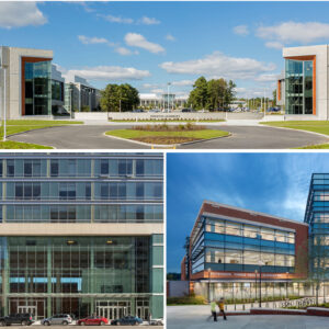 Photo of Perkins Eastman Unveils Trio of Science and Research Buildings