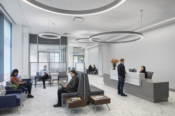 Perkins Eastman Designs Three First-of-Their-Kind COVID-19 Centers of Excellence