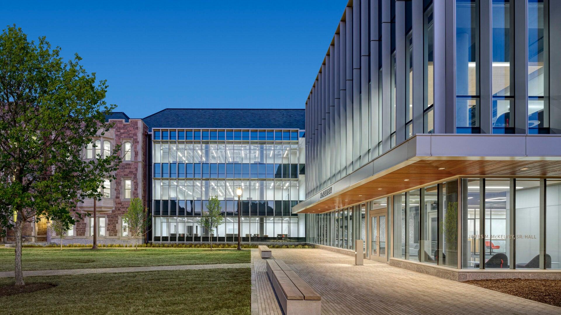 McKelvey Hall at Washington University; design by Perkins Eastman