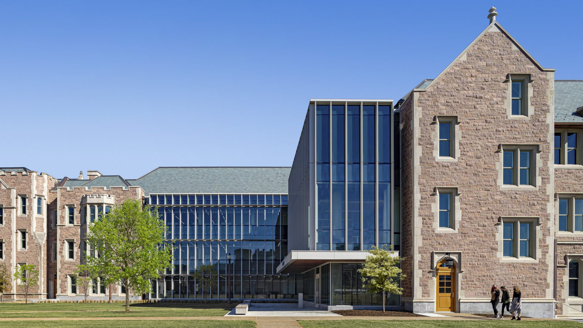 McKelvey Hall, Washington University; design by Perkins Eastman