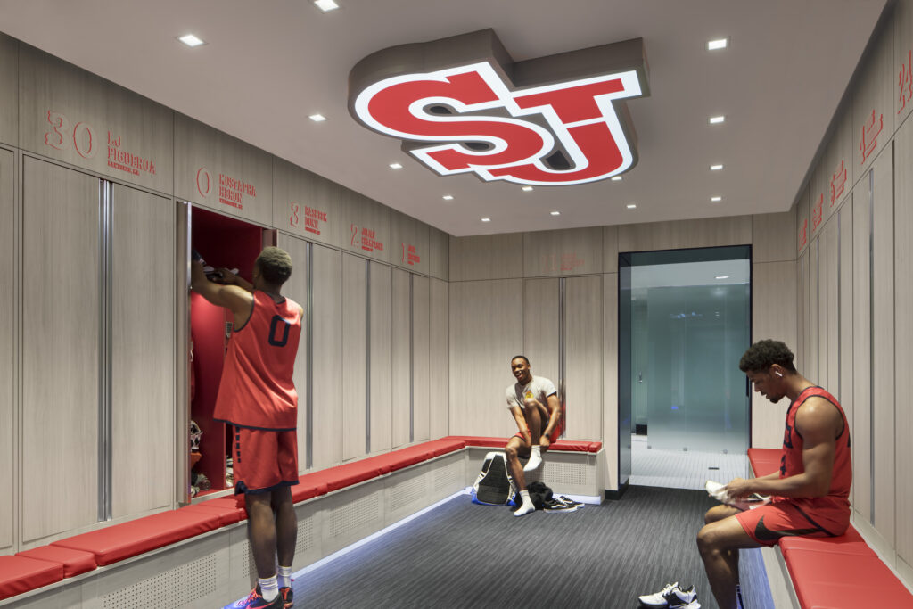 St. John's University: Mens Basketball Locker Suite 2