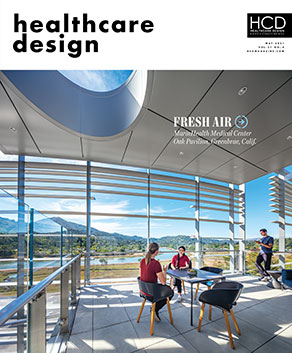 MarinHealth Medical Center Makes the Cover of Healthcare Design 1
