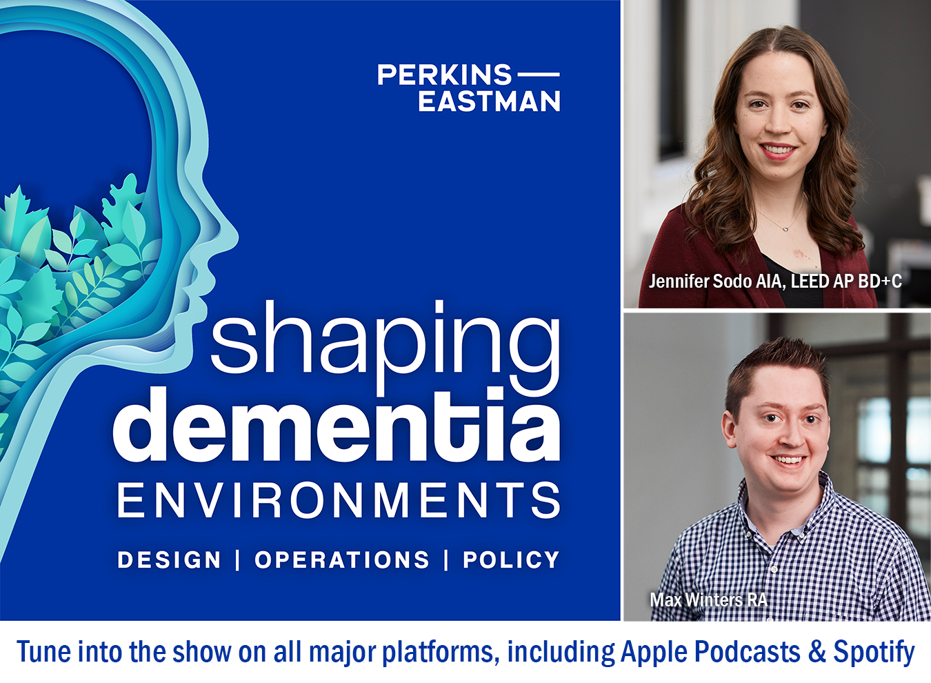 """New Episodes of """"Shaping Dementia Environments"""" podcast out now!"""